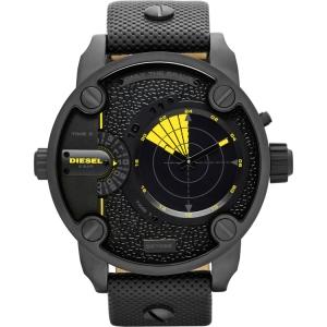 Diesel DZ7292 Horlogeband Zwart Leer
