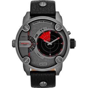 Diesel DZ7293 Horlogeband Zwart Leer