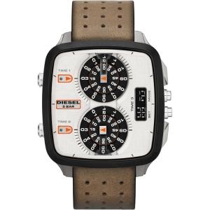 Diesel DZ7303 Horlogeband Bruin Leer