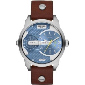 Diesel DZ7321 Horlogeband Bruin Leer