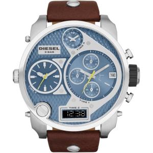 Diesel DZ7322 Horlogeband Bruin Leer