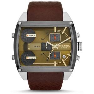 Diesel DZ7327 Horlogeband Bruin Leer