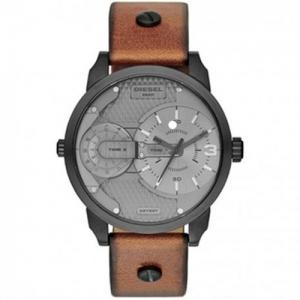Diesel DZ7337 Horlogeband Bruin Leer