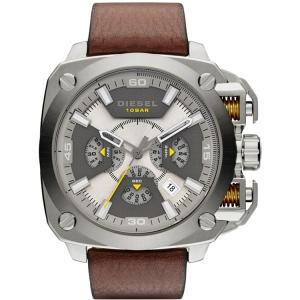 Diesel DZ7343 Horlogeband Bruin Leer