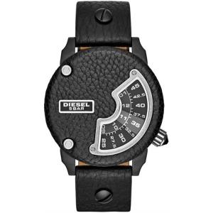 Diesel DZ7353 Horlogeband Zwart Leer