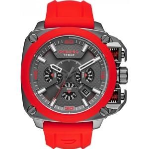 Diesel DZ7368 Horlogeband Rood Rubber