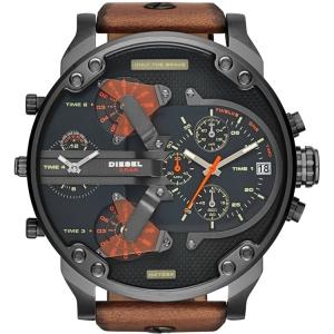 Diesel DZ7332 Horlogeband Bruin Leer