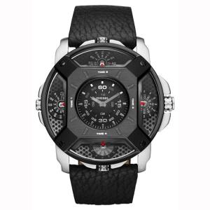 Diesel DZ7384 Horlogeband Zwart Leer
