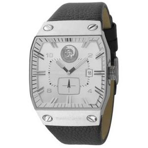 Diesel DZ9036 Horlogeband Zwart Leer