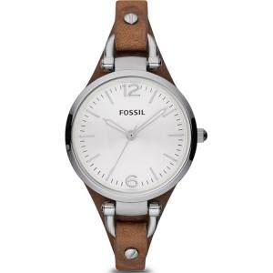 Fossil ES3060 Horlogeband Bruin Leer