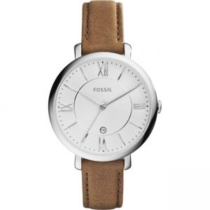Fossil Jacqueline ES3708 Horlogeband Bruin Leer