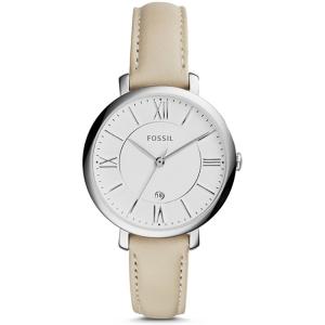 Fossil ES3793 Horlogeband Beige Leer