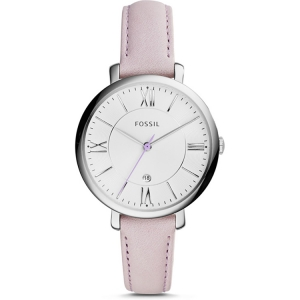 Fossil ES3794 Horlogeband Roze Leer