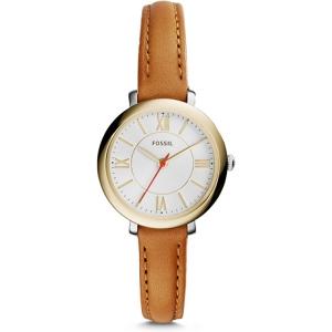 Fossil ES3801 Horlogeband Bruin Leer