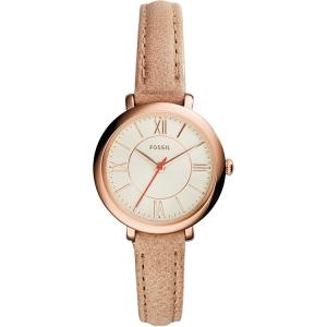 Fossil ES3802 Horlogeband Bruin Leer