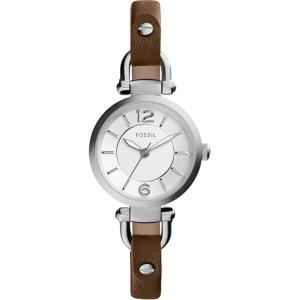 Fossil ES3861 Horlogeband Bruin Leer