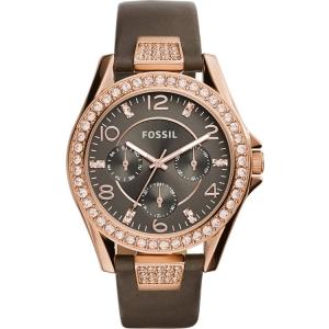 Fossil ES3888 Horlogeband Bruin Leer
