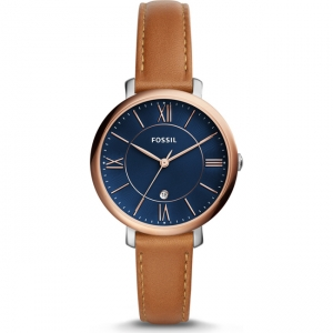 Fossil Jacqueline ES4274 Horlogeband Bruin Leer