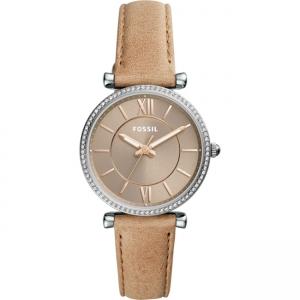 Fossil Carlie ES4343 Horlogeband Bruin Leer
