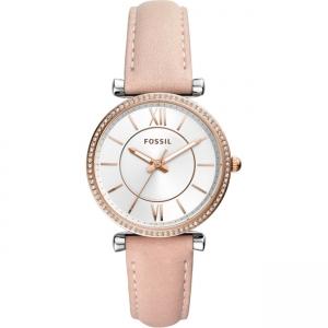 Fossil Carlie ES4484 Horlogeband Beige Leer