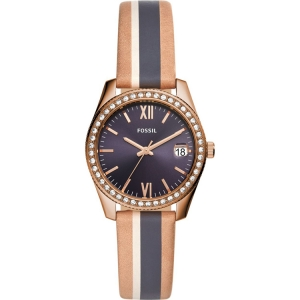 Fossil ES4594 Horlogeband Bruin Multicolor Leer