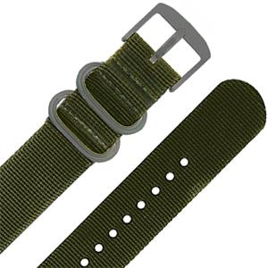 Luminox 8817, 3050, 3060, 3080, 3090, 3150, 3950 ZULU Strap Army Green Nylon 23mm - FN.8800.60