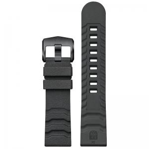 Luminox 3600 3800 Series Horlogeband Donkergrijs Natuurrubber 24mm - FP.3800.22B