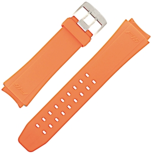 Luminox 9109, 9123, 9125, 9129 Series Horlogeband F16 Fighting Falcon Oranje Rubber