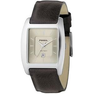 Fossil FS3041 Horlogeband Bruin Leer