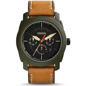 Fossil FS5041 Horlogeband Bruin Leer