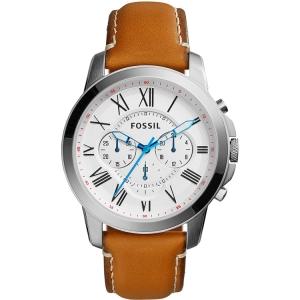 Fossil FS5060 Horlogeband Bruin Leer