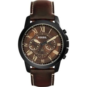 Fossil FS5088 Horlogeband Bruin Leer