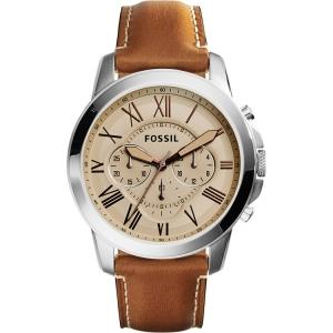 Fossil FS5118 Horlogeband Bruin Leer