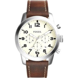 Fossil FS5146 Horlogeband Bruin Leer