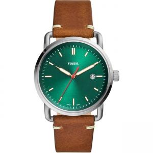 Fossil Commuter FS5540 Horlogeband Bruin Leer