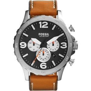Fossil JR1486 Horlogeband Bruin Leer