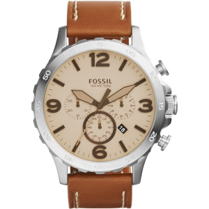Fossil JR1503 Horlogeband Bruin Leer