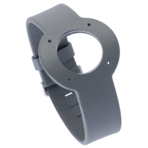 Jacob Jensen horlogeband Strata Grijs Leer 20mm