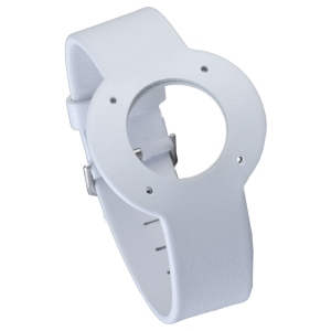 Jacob Jensen horlogeband Strata Wit Leer 20mm
