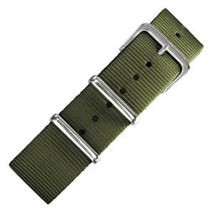 Legergroen NATO Nylon Horlogebandje - SS