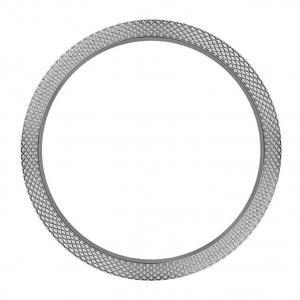 Marc Coblen / TW Steel Bezel 45mm Roestvrij Staal Gehamerd - MCB45SH