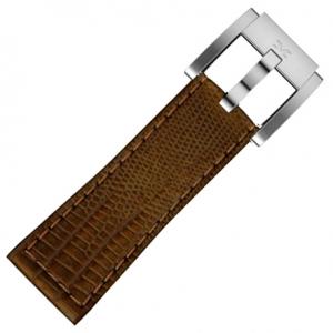 Marc Coblen / TW Steel Horlogeband Bruin Leer Slang 22mm