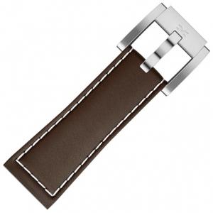 Marc Coblen / TW Steel Horlogeband Bruin Leer 22mm
