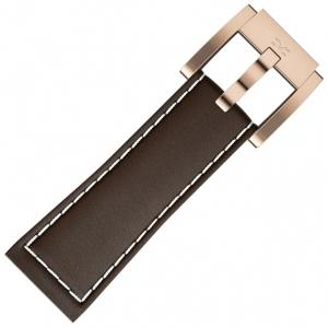 Horlogeband Bruin Leer Glad 22mm - Marc Coblen