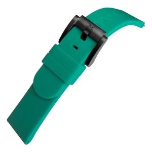 Marc Coblen / TW Steel Silicone Horlogeband Smaragd Groen 22mm