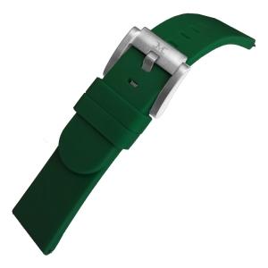 Marc Coblen / TW Steel Silicone Horlogeband Donkergroen 22mm
