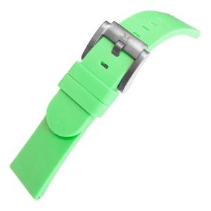 Marc Coblen / TW Steel Silicone Horlogeband Lichtgroen 22mm