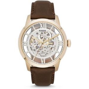 Fossil ME3043 Horlogeband Bruin Leer