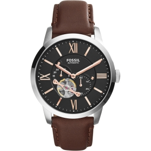 Fossil ME3061 Horlogeband Bruin Leer