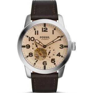 Fossil ME3119 Horlogeband Bruin Leer